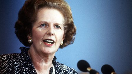 Margaret Thatcher. Pic: PA Wire