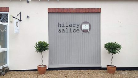 Two bay trees have been stolen from outside Hilary & Alice on Park Road, Diss. Courtesy of Pam Lawto