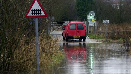 Flooding in Thorpe St Andrew.