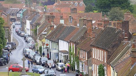 CAPTION; Photos of Burnham Market for a story about Capitals Gains Tax on Second Homes. Pic shows a