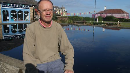 Barry Meadows, the secretary of Friends of North Lodge Park. Picture: ALLY MCGILVRAY