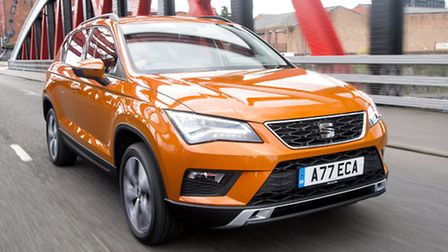 SEAT debuts in the compact sport utility vehicle market with the stylish and spacious Ateca and is l