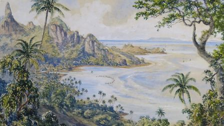 Fiji: Art and Life in the Pacific exhibition at Sainsbury Centre for Visual Arts.Pictured is Constan