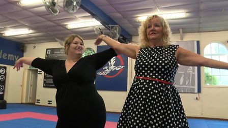 Teresa Andrews has realised a dream to learn burlesque dancing thanks to the Never Too Late feature