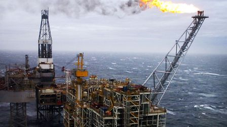 North Sea oil production has increased by 10%. Picture: Danny Lawson/PA Wire