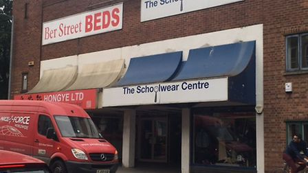 The Schoolwear Centre in Ber Street, Norwich, is unable to meet demand for school uniforms. Picture: