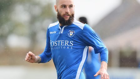 Chris Henderson was sent off after picking up a second yellow late in Lowestoft's disappointing FA C