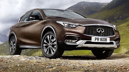 Infiniti QX30 is a real brand builder and looking to get noticed in the premium compact crossover ma