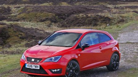 SEAT Ibiza SC Cupra, seen here in Black edition, is soemthing of a bargain pocket-rocket.
