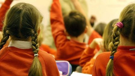 """File photo dated 03/12/03 of pupils during a lesson. More than 30,000 people have backed a """"kid's st"""