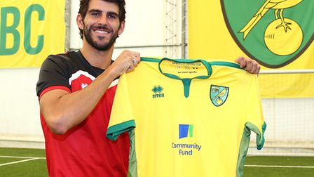 Nelson Oliveira could be joined by another striker at Norwich City. Picture: Jasonpix