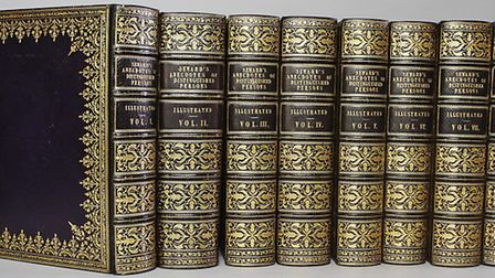An exceptional set of extra-illustrated books dating from 1798 with a pre-sale estimate of £10,000-£