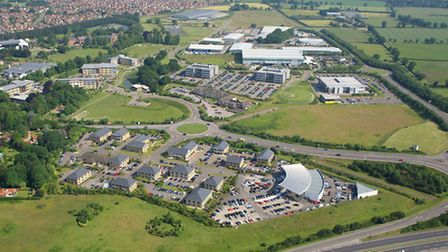 Broadland Business Park. Picture: Mike Page