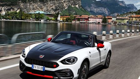 The Abarth 124 Spider roadster is being launched at Desira dealerships this weekend.