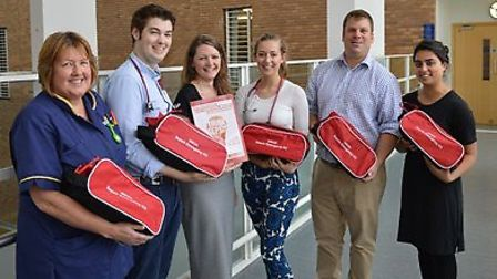 The sepsis audit team at the Norfolk and Norwich University Hospital.