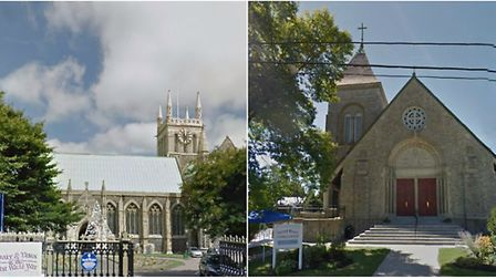 Church in GY, UK and Yarmouth, Maine.