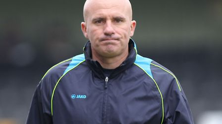 Lowestoft Town manager Ady Gallagher. Picture: Focus Images