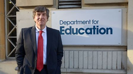 Sir David Carter, the national schools commissioner. Photo: Department for Education
