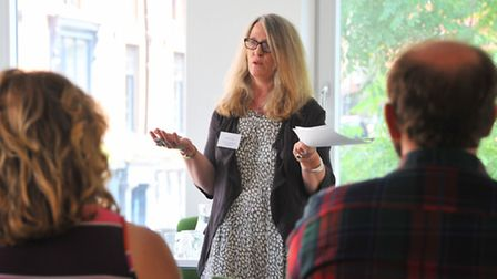 Louise Jury, director of communications and strategy at the Creative Industries Federation at the No