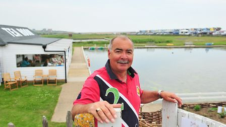 David and Penny Ball have taken over Southwold boating lake and have invested in the renovation of t