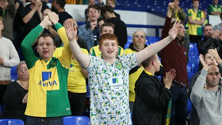 Norwich City fans now know who they will face in the fourth round of the EFL Cup. Picture: PAUL CHES