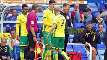 Norwich City's Steven Naismith has not featured since the 3-0 Championship defeat at Birmingham. Pi