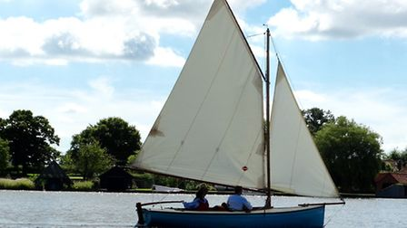 The Broads on a sunny day. Picture: Lydia Taylor