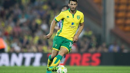 Wes Hoolahan pulled the strings again for Norwich City. Picture by Paul Chesterton/Focus Images Ltd