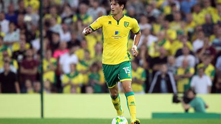 Timm Klose has been a key figure in Norwich City's early Championship work. Picture by Paul Chestert