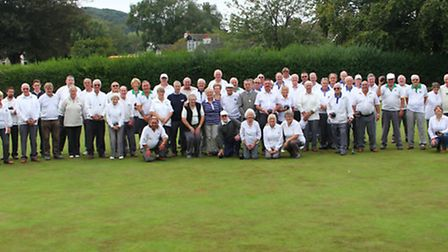 The NANSA Bowls League celebrated their 50th Anniversary with a special tournament at Suffield Park