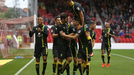 Norwich City delivered a statement of intent at Nottingham Forest. Picture by Paul Chesterton/Focus