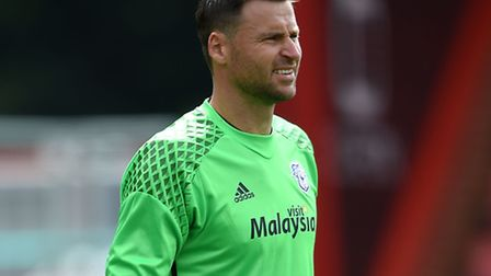 David Marshall ex-Norwich and now ex-Cardiff. Picture: PA