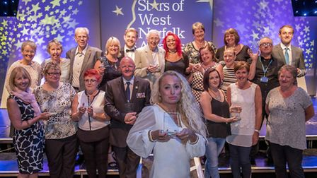 Scenes from Stars of West Norfolk Awards Evening hld at the Alive Corn Exchange in King's Lynn - All