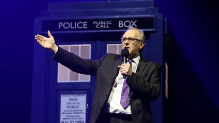 Peter Davison, who portrayed the fifth Doctor between 1981 and 1984, during the Doctor Who Symphonic