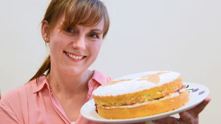 Norwich contestant in the Great British Bake Off, Kate Barmby. Picture: DENISE BRADLEY