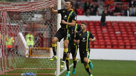 Jonny Howson equalised for Norwich City at Nottingham Forest. Picture by Paul Chesterton/Focus Image