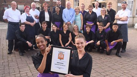 The Bank House in King's Lynn has been awarded Town Pub of the Year 2017 by The Good Pub Guide. Pict