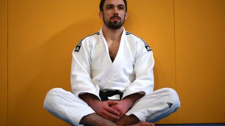 Jonathan Drane during the announcement of the Rio 2016 Paralympics Judo squad at the University of W