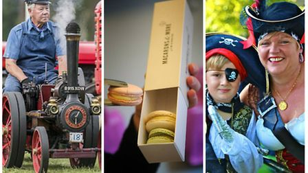 What's on this weekend: Sandringham Game and Country Fair, Macaron Day and Wells Pirate Festival. (L