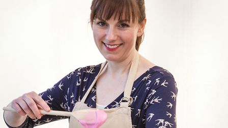 Kate Barmby, one of the contestants for this year's BBC1's cookery contest, The Great British Bake O