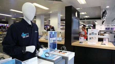Dixons Carphone Plc of their Oxford Street store. Picture: PA