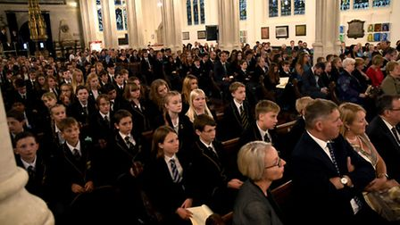 Thetford Grammar School held a Speech Day at St Edmundsbury Cathedral to celebrate its successful GS