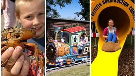Go Outdoors, Norfolk Children's activities: Crabbing in Wells, the train at Wroxham Barns and childr