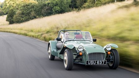 Caterham's retro Seven Sprint, from £27,995, aims to appeal to Seven purists.