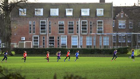 Gresham's School in Holt will host a centre of excellence for young sports stars. Picture: MARK BULL