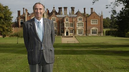 Bernard Matthews pictured at Great Witchingham Hall. Picture: Keiron Tovell.