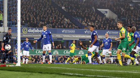Seb Bassong put City ahead in the League Cup at Everton last season but it was the visitors who were