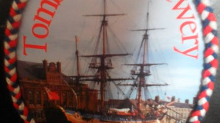 Tombstone Brewery has prodced a one-off speciality beer for this year's Maritime Festival in Great Y