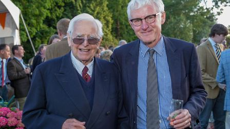 Peter Boardman (left) pictured with North Norfolk MP Norman Lamb. Picture: Lee Blanchflower