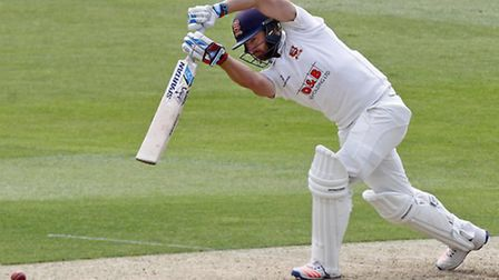 15.05.2016 Chelmsford, England. Jack Mickleburgh in batting action during the Essex CCC and Derbys
